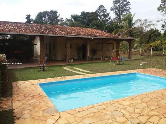 Sítio / Chácara Para Venda Em Igarapé, Condominio Fazenda Solar, 4 Dormitórios, 2 Banheiros, 10 Vagas - Sitio11_1-1120186