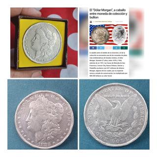 Moneda E.pluribus Morgan 1882