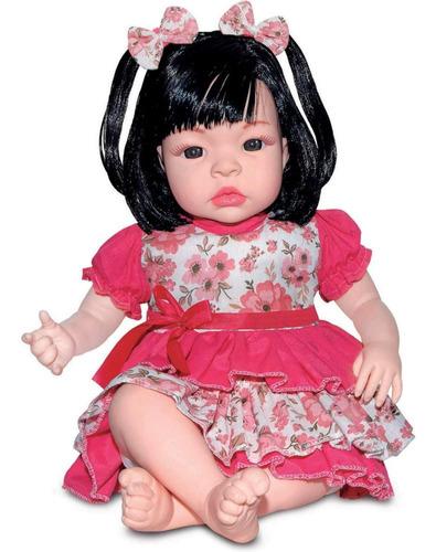 Imagem 1 de 9 de Boneca Bebê Reborn Baby Kiss Barata Promoção