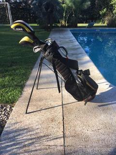 Set De Bolsa Y Palos De Golf Para Chicos