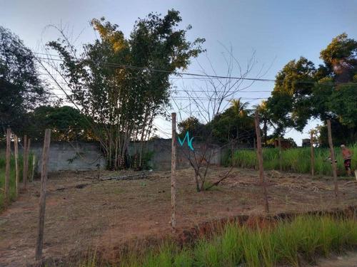 Terreno À Venda, 290 M² Por R$ 80.000 - Guaratiba - Rio De Janeiro/rj - Te0028