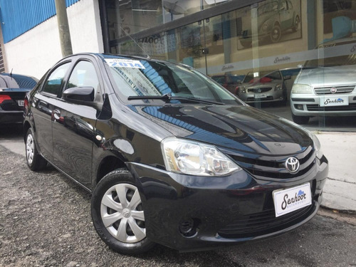 Toyota Etios X Manual 1.5 Preto - 2014