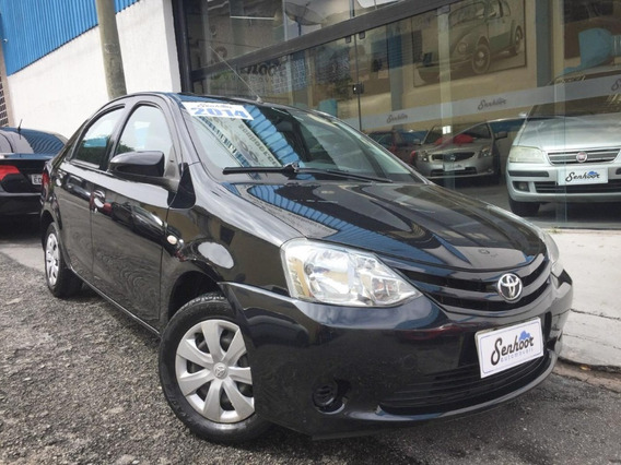 Toyota Etios X Manual 1.5 Preto - 2014