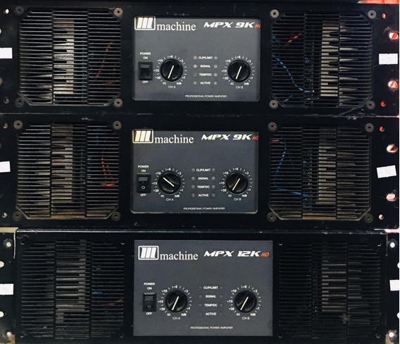 Amplificador Potencia Machine Mpx 9k - 12x Sem Juros