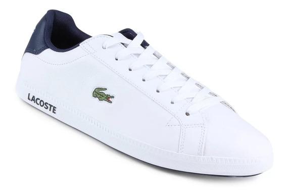 Tênis Lacoste Graduate Lcr3 Sport 33spm0299 Branco