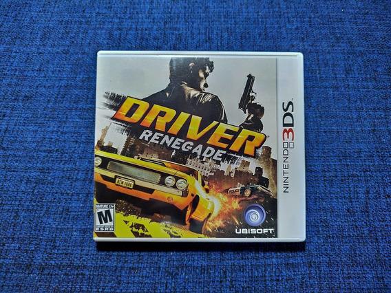 Driver Renegade 3ds 2ds Completo Semi-novo Usado