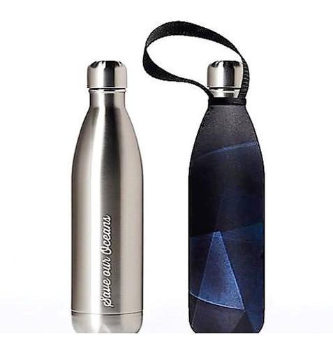 Botella De Agua Acero Con Funda 750ml Ecologico Ecoshop