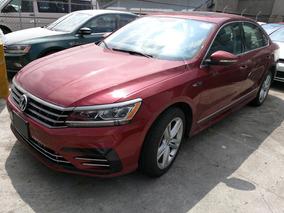 Volkswagen Passat R Line 2017 Rojo Fortana