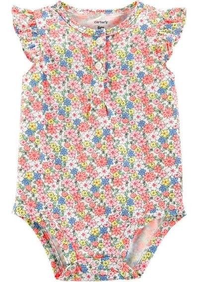 Body Carters Manga Curta Floral / Menina Pentrega 16527112
