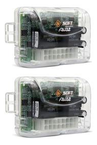Kit Aw32 4 Portas 02 Centralinas De Vidro Eletrico P/ 4 Pts