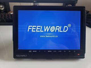 Monitor Feelworld Fw760 7 4k Hdmi Perfecto Estado