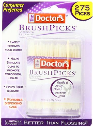 Set De 6 Paquetes De Cepillos Para Limpieza Interdental