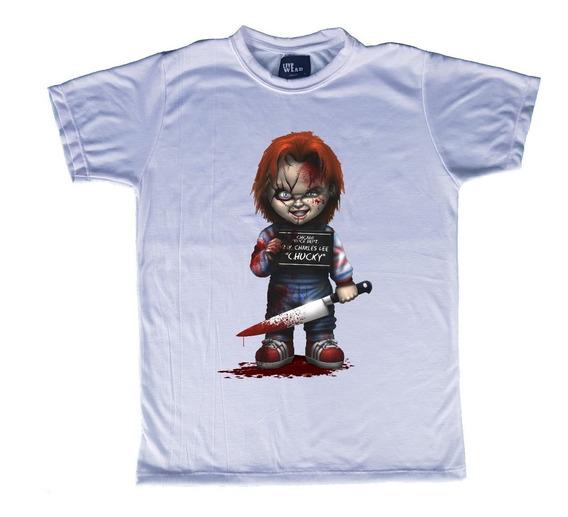 Playera Long O Normal Chucky Live Wear Mod C09