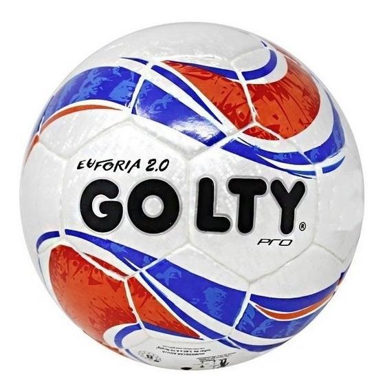 Balon Futbol Golty Professional Euforia 2 Thermotech No 5