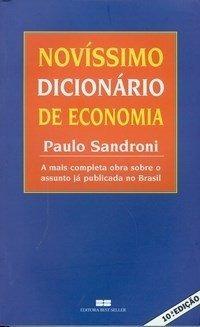 Novíssimo Dicionário De Economia 14 Edição