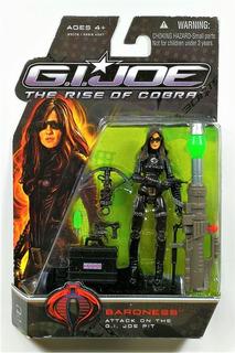 Muñeco G.i.joe The Rise Of Cobra Baroness Sobreruedasjuguete