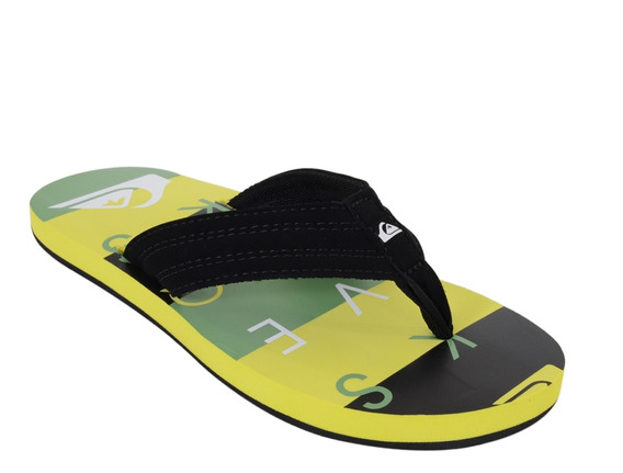 Chinelo Quiksilver Basis Verde