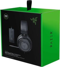 Headset Kraken Tournament Edition Pc Ps4 Cor Preto E Verde