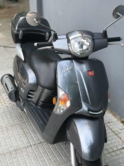 Scooter Kymco Like 125 2016 Excelente!