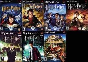 Harry Potter Ps2 Saga Completa Playstation 2 (7 Discos) Ps2