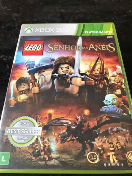 Jogo Xbox 360 Lego O Senhor Dos Anéis Original Mídia Física