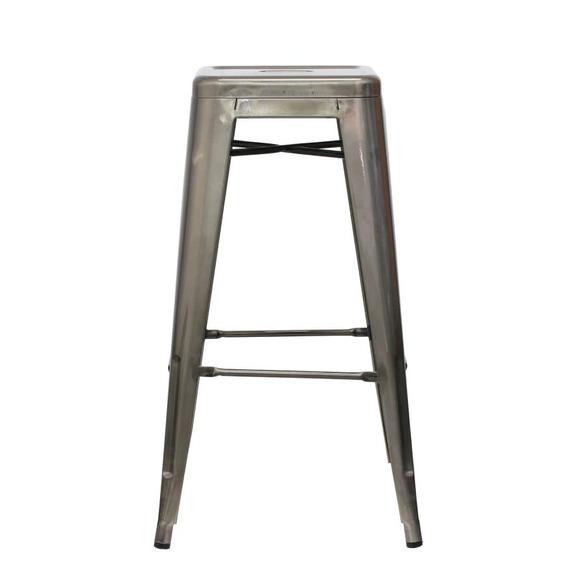 Piso Taburete Form Design 76 Cm Tolix Metal