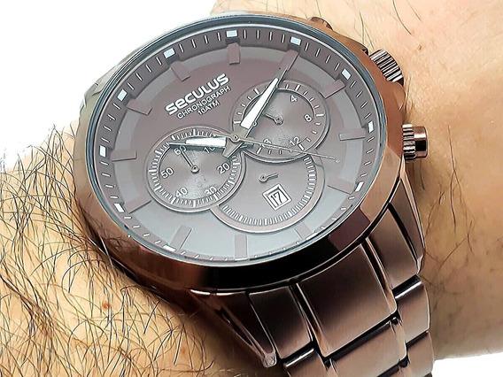 Relógios Masculinos Aço Inoxidável À Prova D