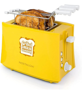 Tostador De Sandwich Nostalgia Retro Amarillo Tcs2