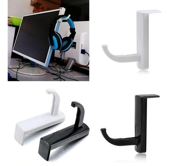 Suporte P/ Headset P/ Monitor, Tv, Mesa, Balcão
