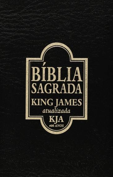 Livro Bíblia King James Atualizada Capa Imitação De Couro