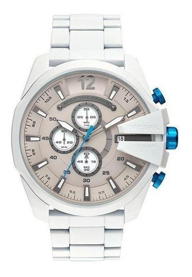 Relógio Diesel Masculino Branco Dz4502/1bn