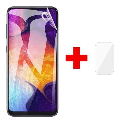Imagen 1 de 5 de Lamina Hidrogel Pantalla Y Cam Xiaomi Redmi Note 10 Pro