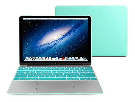 Macbook 12 - Kit 3x1 Capa Case Protetor Tiffany A1534