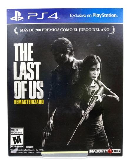 The Last Of Us Ps4 Mídia Física Português Br Lacrado Loja