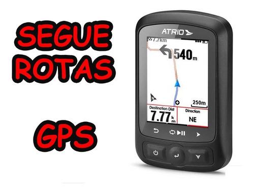 Imagem 1 de 6 de Gps Atrio Titanium Bluetooth Ant Strava Igual Garmin 520 820