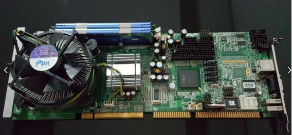 Placa Mãe Industrial Axiomtek Core 2 Duo + 2gb / Sbc81203