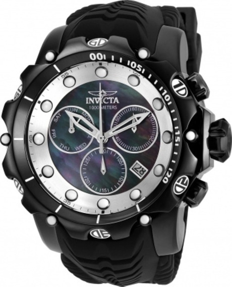Relógio Invicta Venom Quartz Chronograph Black Original