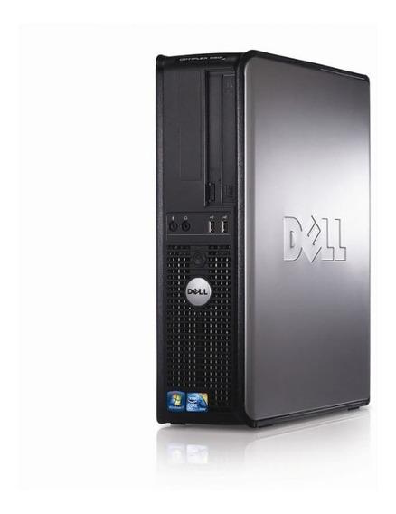 Cpu Pc Dell Optiplex 380 Core 2duo Hd 160gb 4gb Garantia