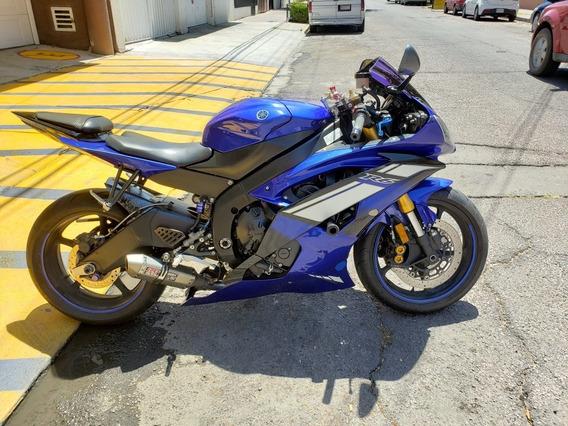 Yamaha R6r R6 2012 Importada Muy Equipada R1 Gsx Motomaniaco