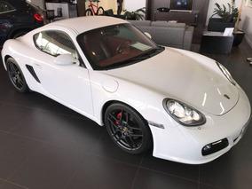 Porsche Cayman 3.4 2010 Branco Gasolina