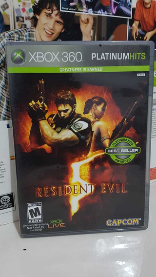 Resident Evil 5 Midia Física Xbox 360 Original P/entrega