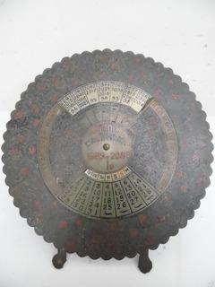Calendario Decorativo Chino De 1989-2088 Lamina L344