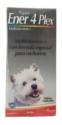Ener 4 Plex Cachorro 60 Tab Vitaminas Para Perro Equilibrium