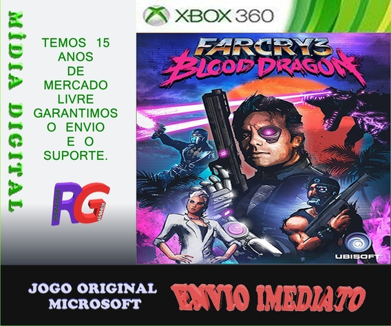 Farcry 3 Blood Dragon Xbox 360 Midia Digital Roraima Games