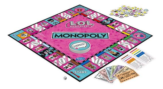 Juego De Mesa Monopoly Lol