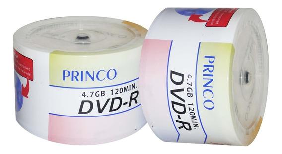 Dvd Virgen Princo 4.7 Gb Paq. De 100 Unidades