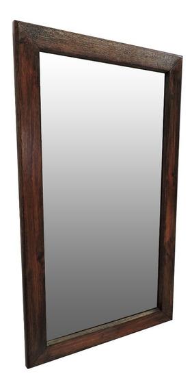Espejo En Madera Noble !! 54x75cm. !! Envio Gratis !!