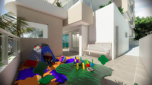 Imagem 1 de 11 de Apartamento - Venda - Guilhermina - Praia Grande - Oki25
