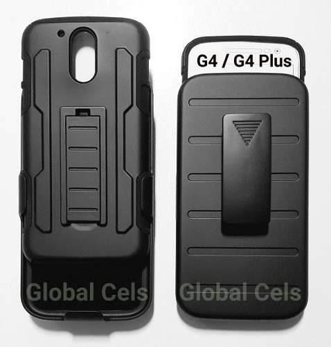 Case Moto G4 / G4 Plus / Galaxy J7 Protector Gancho Holster