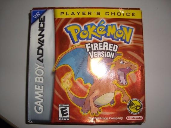 Pokemon Firered Gba Completa Original Americana 237 Pokedex